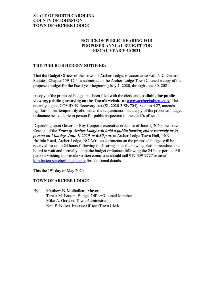 Legal Ad-Notice of Public Hearing on Budget FY21 Website and Social Media.jpg